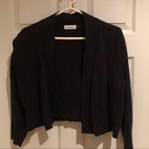 Calvin Klein cropped cardigan